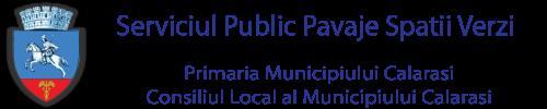 Serviciul Public Pavaje Spații Verzi Călărași